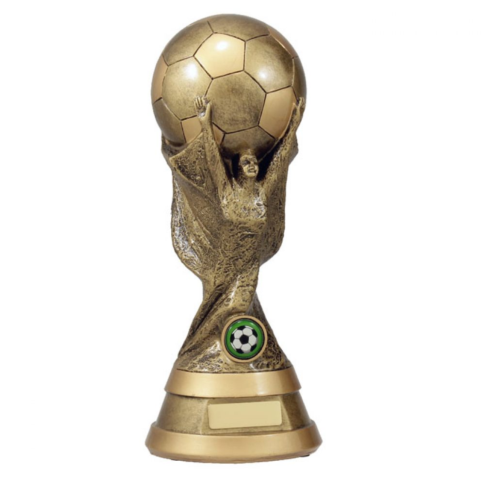 Football World Soccer Trophy Price Depends On Size