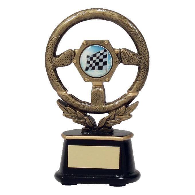 Race Car Trophy >> Racing Car steering wheel Trophy 3 SIZES (TC17 A387A B C ...